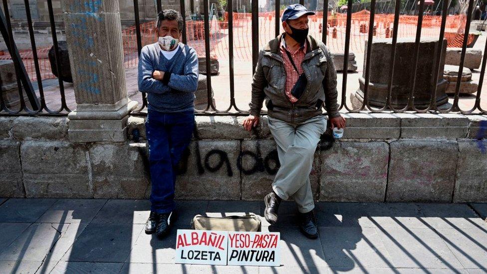 Desemplados en México