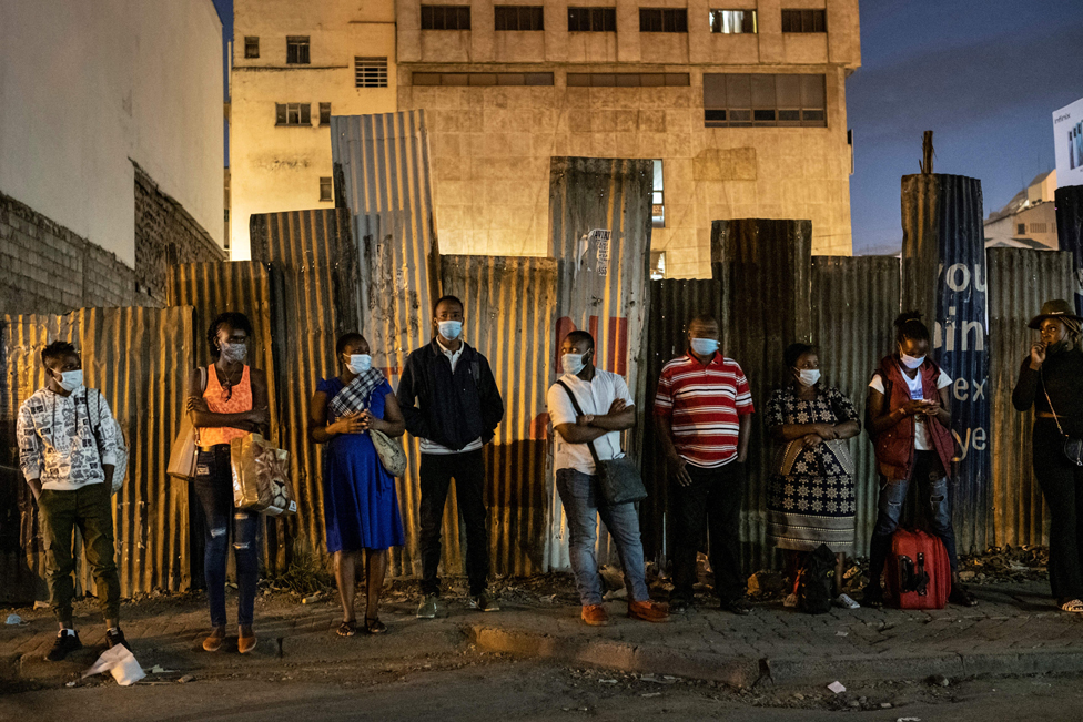 حظر التجول في العاصمة الكينية نيروبي
