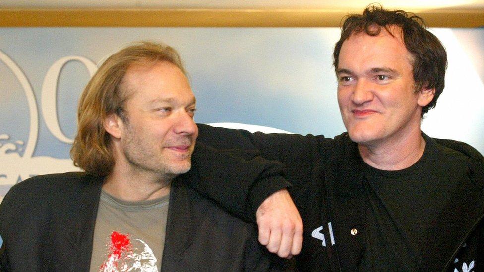 Greg Nicotero and Quentin Tarantino