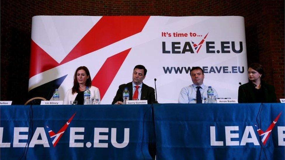 Leave.EU press event