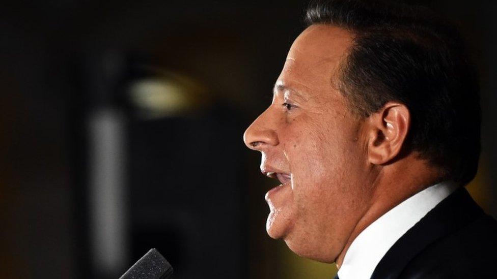 Panamanian President Juan Carlos Varela (06 April 2016)
