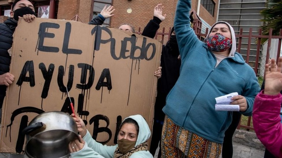 Protesto no Chile