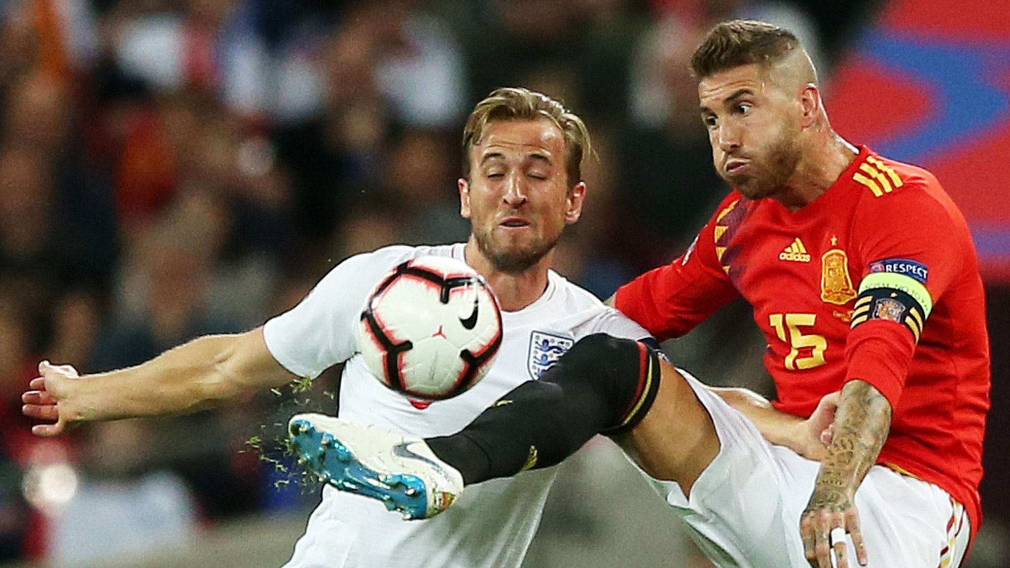 Kane would flourish in La Liga, says Spain captain Ramos