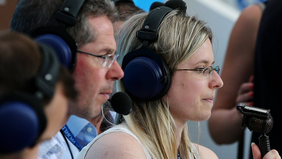 Vicki Sparks: First female commentator for live World Cup match