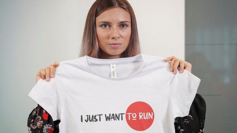 Кристина Тимановская: МОК лишил аккредитации на Олимпиаде двух чиновников из Беларуси, причастных к делу легкоатлетки