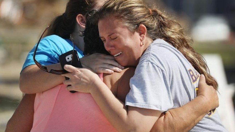 ضحايا الإعصار