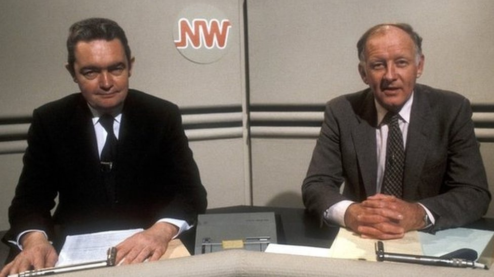 Hugh Scully & Frank Bough on Nationwide