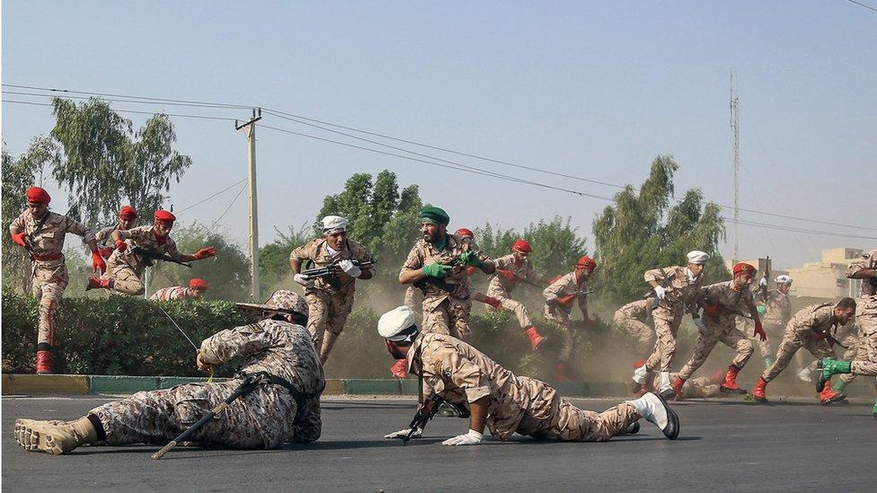 Iran's Rouhani fumes at US after Ahvaz parade attack