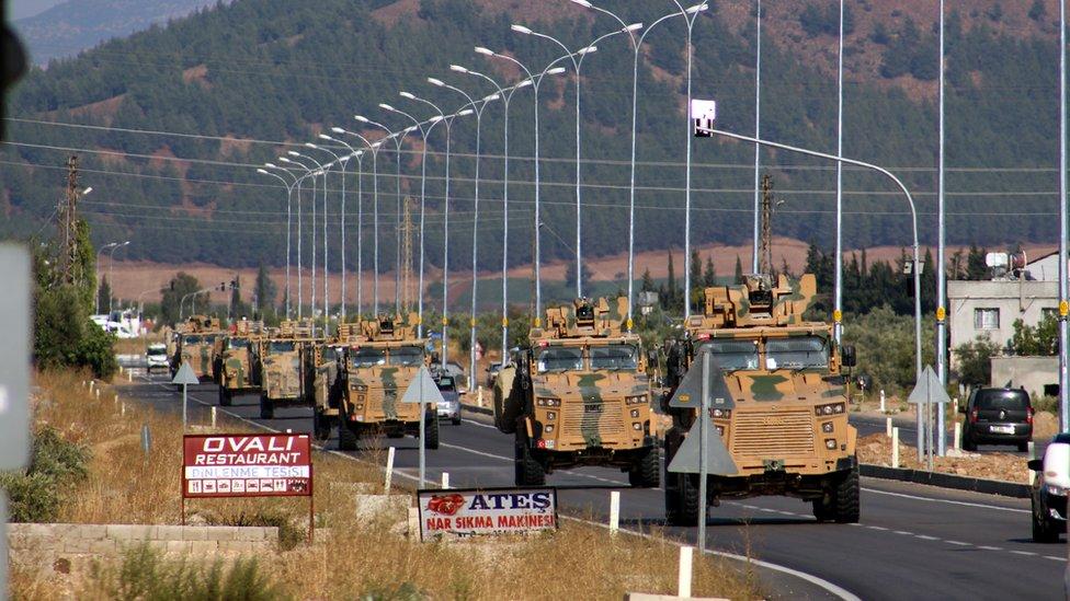 أعلنت تركيا، الأربعاء 9 أكتوبر/تشرين الأول، بدء عملية عسكرية شمالي سوريا