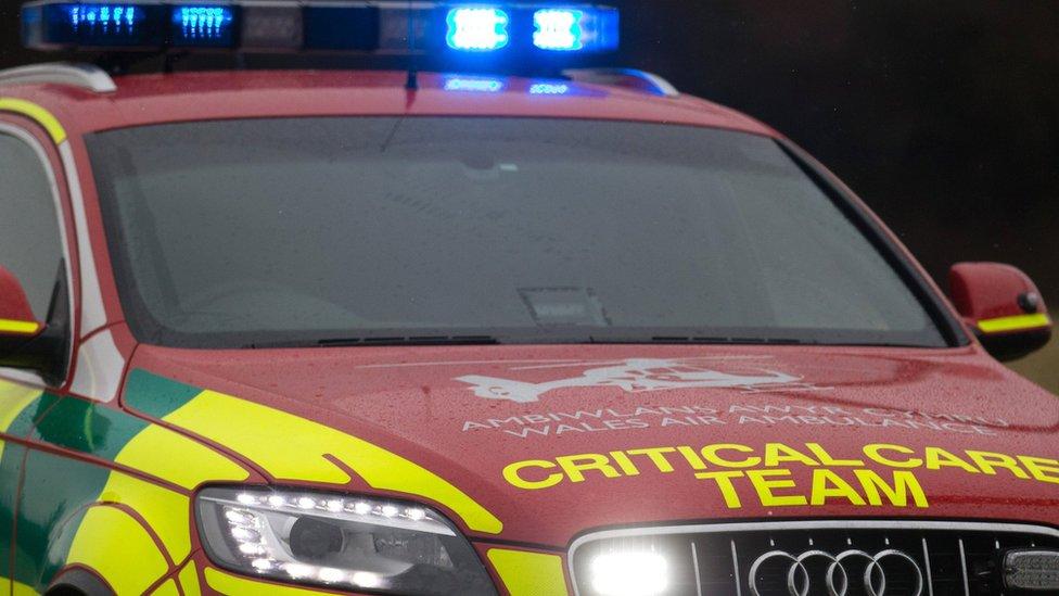 Boy, 11, in hospital after crash in Loughor