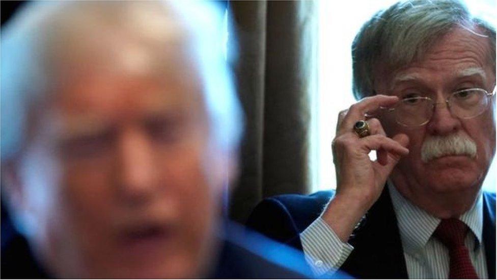 أغضبت مزاعم جون بولتون التي اوردها في كتابه دونالد ترامب