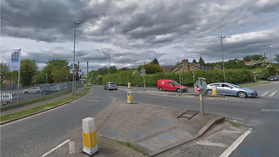 Knottingley mobility scooter crash driver dies