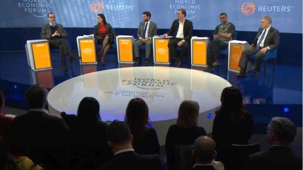 Davos, 22. januar 2016.