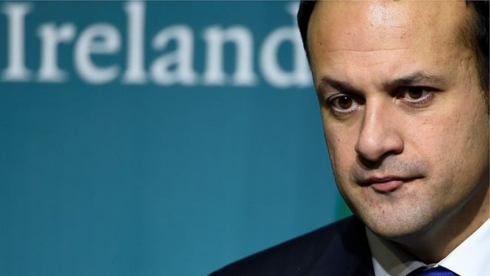 Leo Varadkar: 'no cause for panic' on UK backstop position