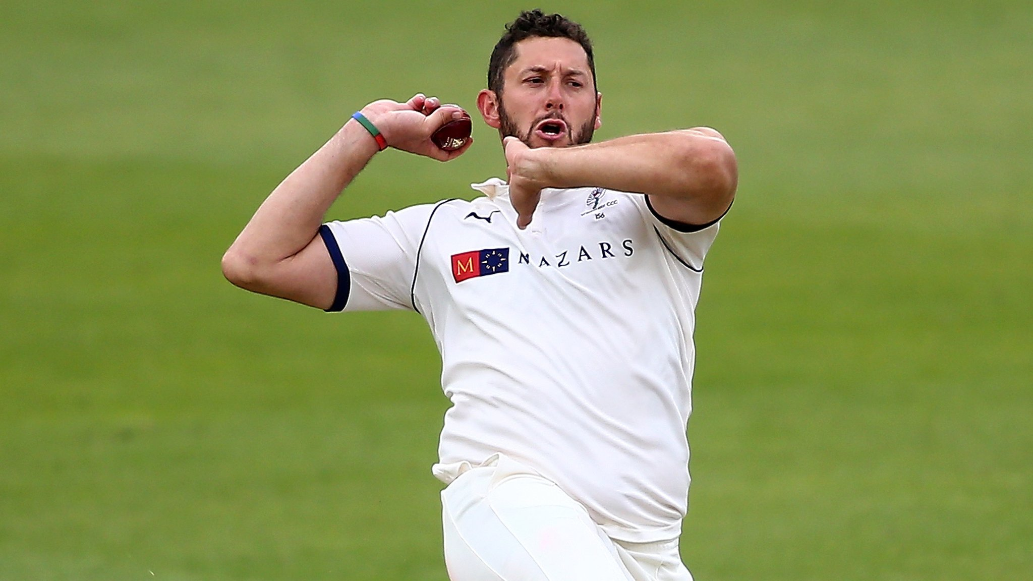County Championship: Tim Bresnan takes 5-28 as Tykes forge ahead against Hants