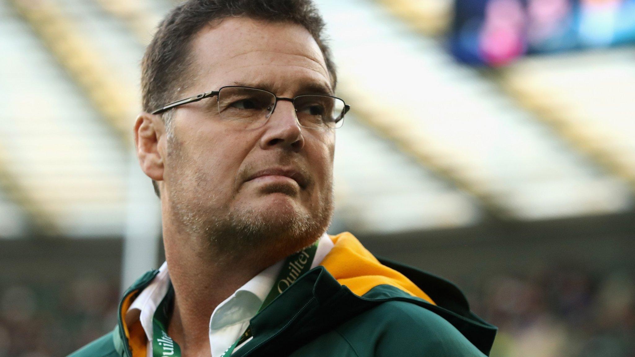 Wales v South Africa: Springboks coach Erasmus expecting 'toughest test'