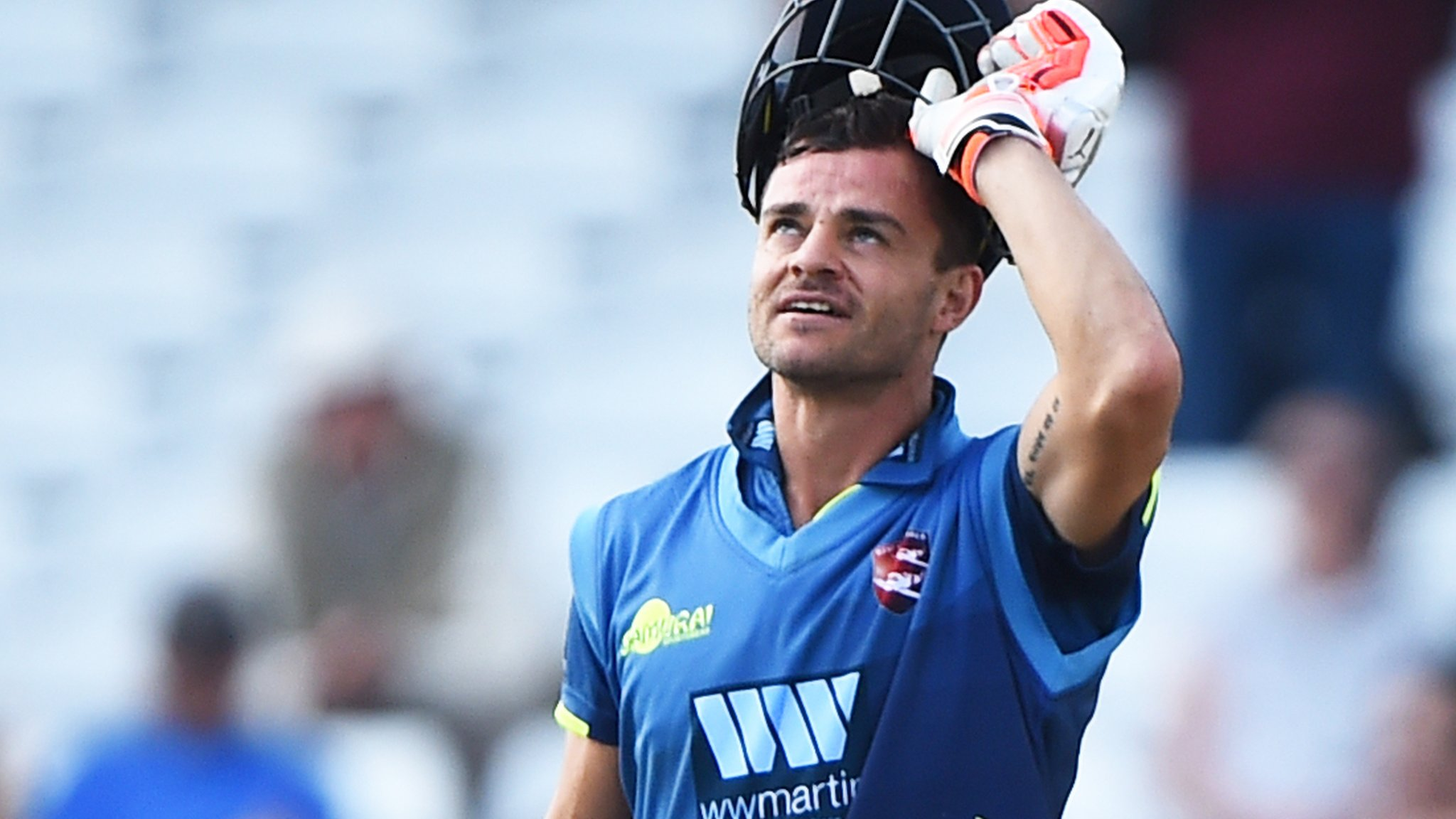One-Day Cup: Heino Kuhn scores unbeaten 124 as Kent beat Nottinghamshire to reach semi-finals