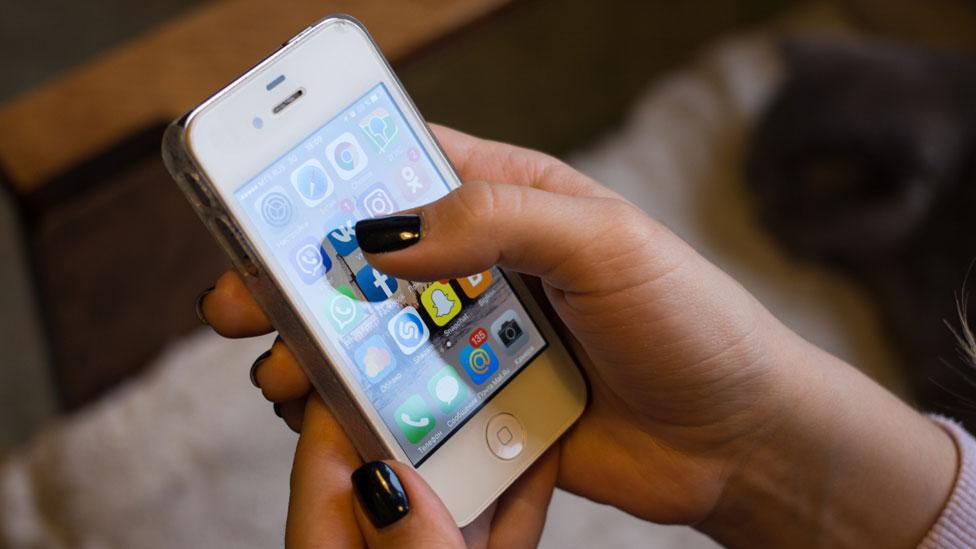 Un celular