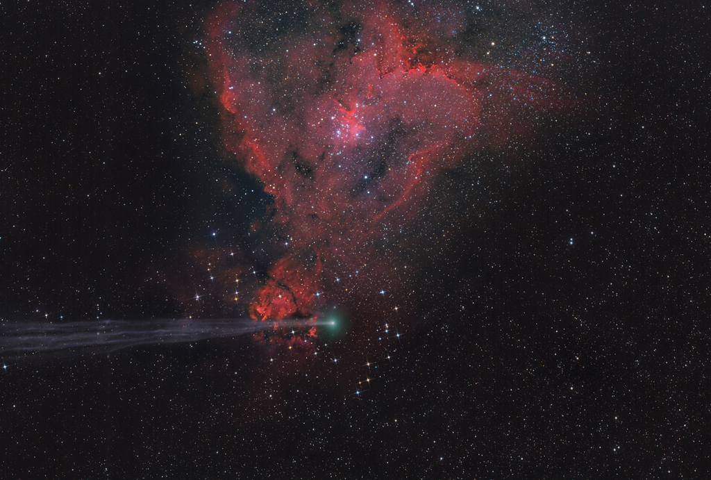 The Arrow Missed the Heart - by Lefteris Velissaratos (Planets, Comets and Asteroids, Winner)