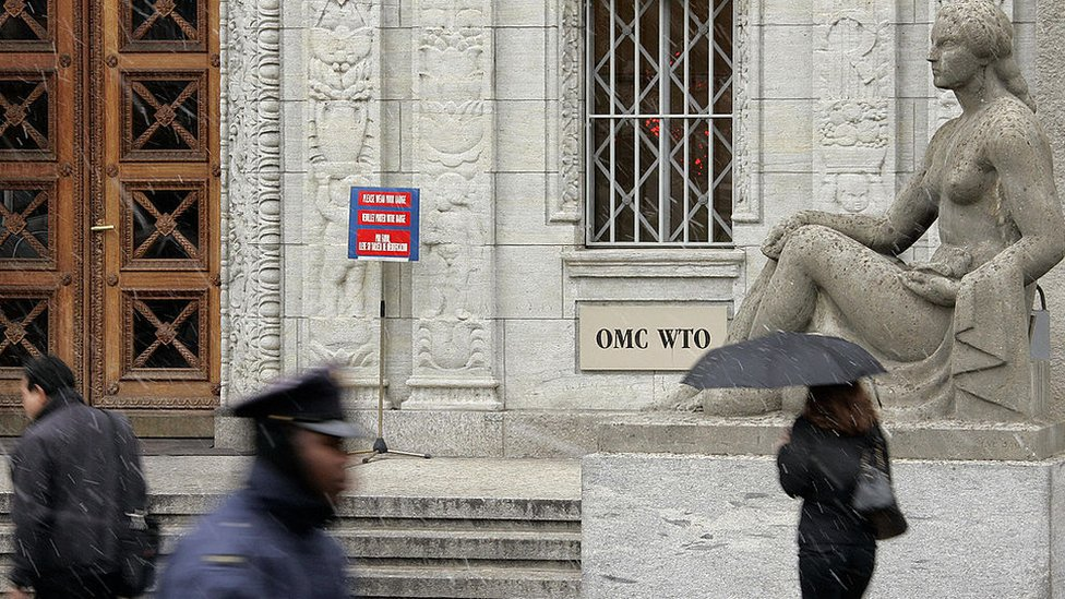 Sede central de la OMC en Ginebra.