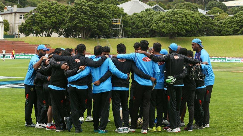 Equipo de Bangladesh.