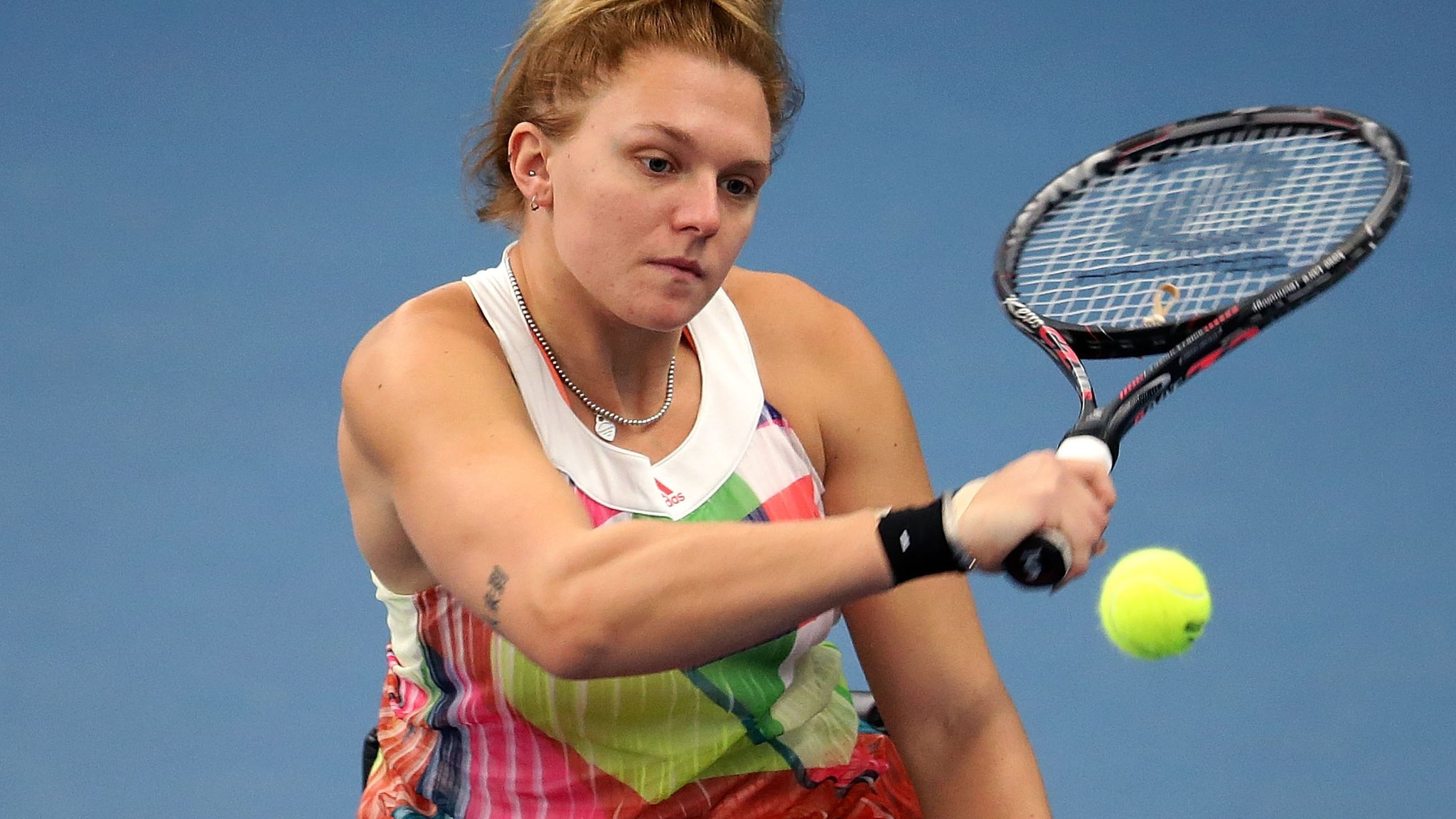 Bolton International Indoors: Jordanne Whiley beaten in final