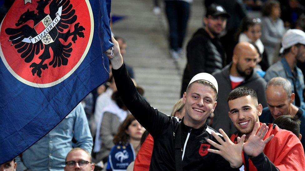 Navijači Albanije