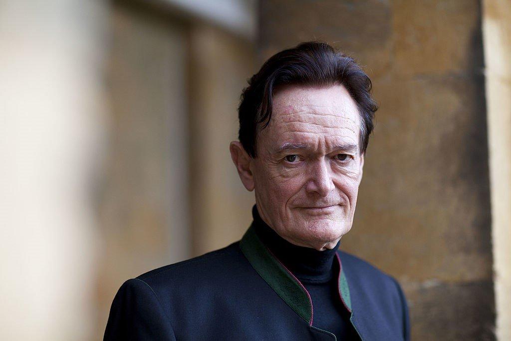 El profesor Martin Kemp, historiador del arte, posa para un retrato en el Festival Literario de Woodstock en Inglaterra.