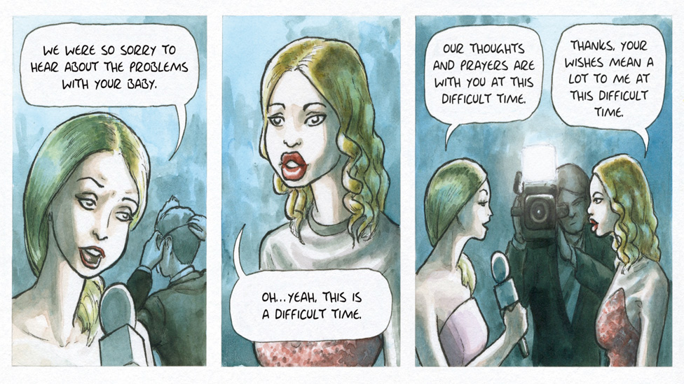 A comic strip from Hannah Berry's Livestock