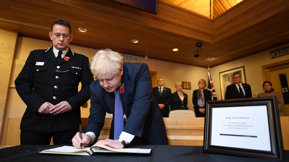 英國首相鮑里斯•約翰遜(Boris Johnson)