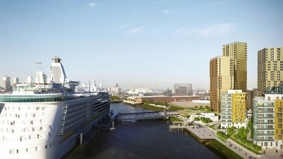 Greenwich cruise ship terminal plans withdrawn