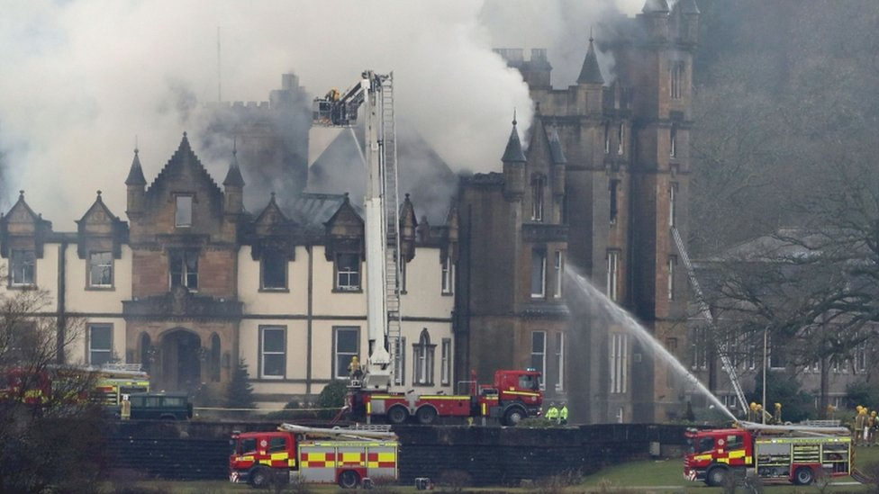 Cameron House handed back to owners after fire investigation work