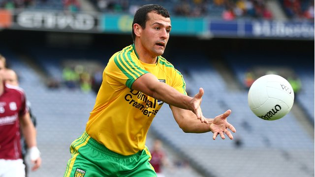Frank McGlynn is a key member of the Donegal panel