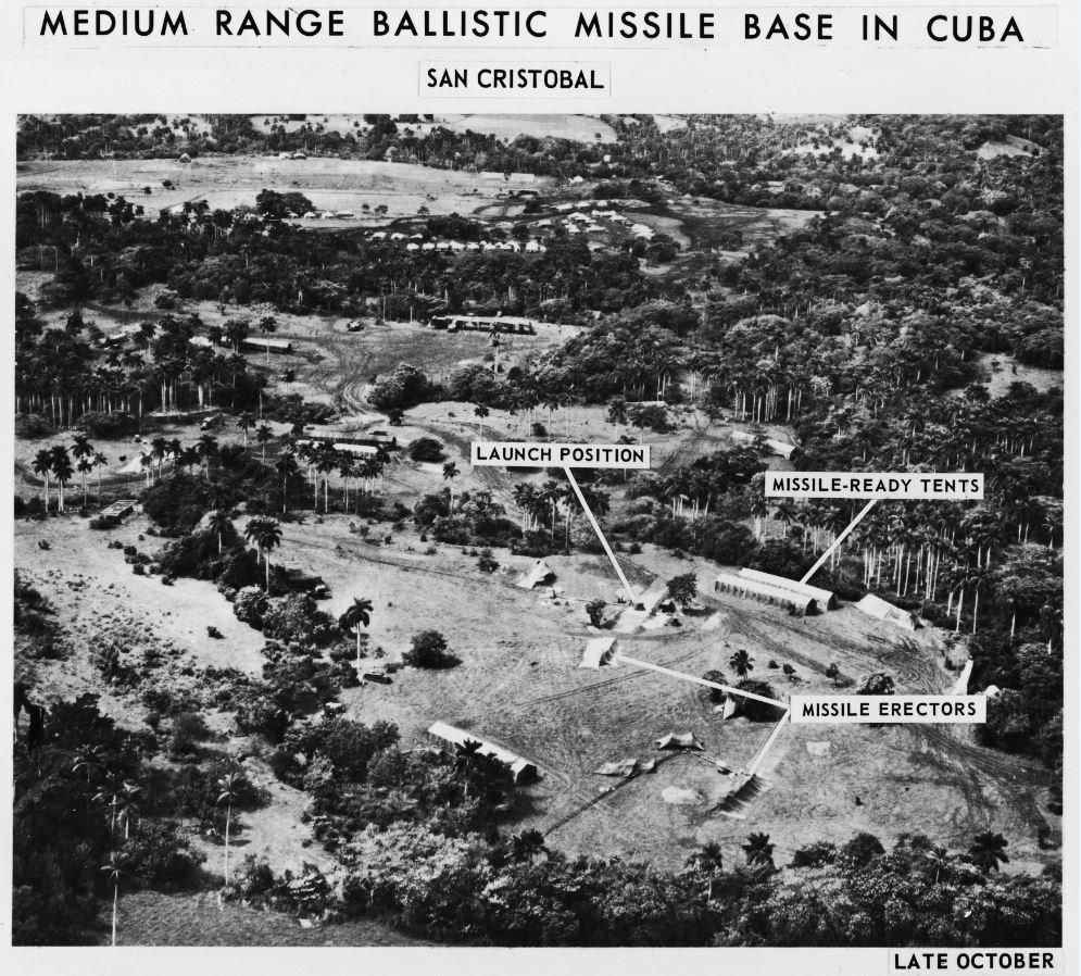 Base de misiles balísticos en Cuba