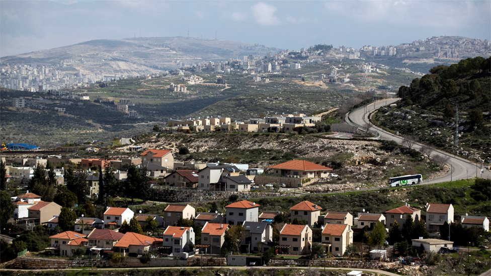 Deo palestinskog grada Nablusa