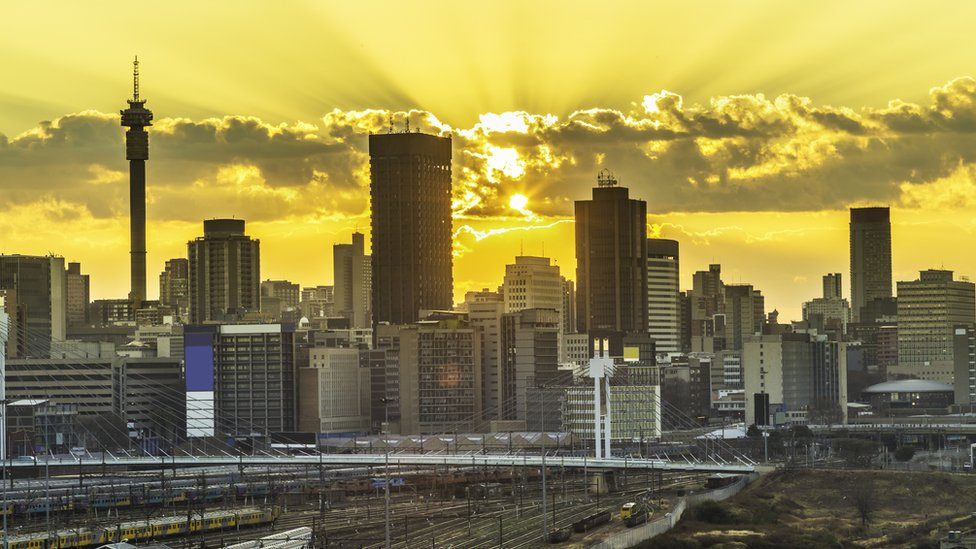 Johannesburg is the biggest city in South Africa