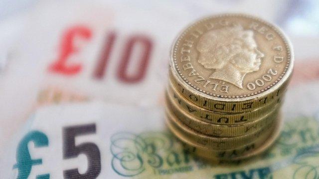 British money (Pounds)