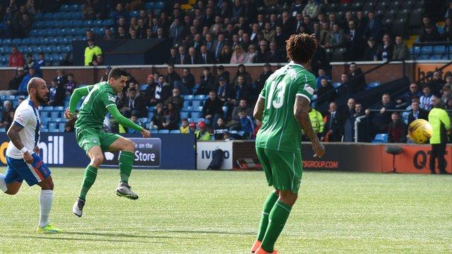 Goal of the season: Tom Rogic's last minute winner for Celtic against Kilmarnock