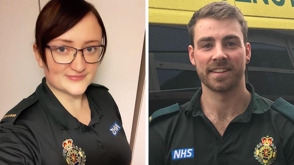 Two paramedics
