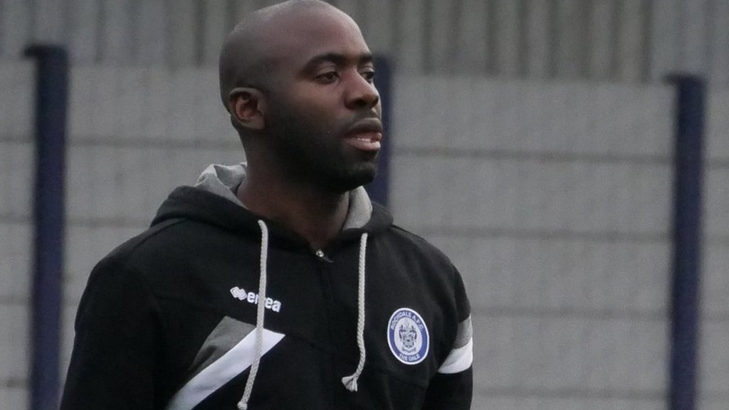 Fabrice Muamba: Former Bolton and Birmingham midfielder coaches at Rochdale