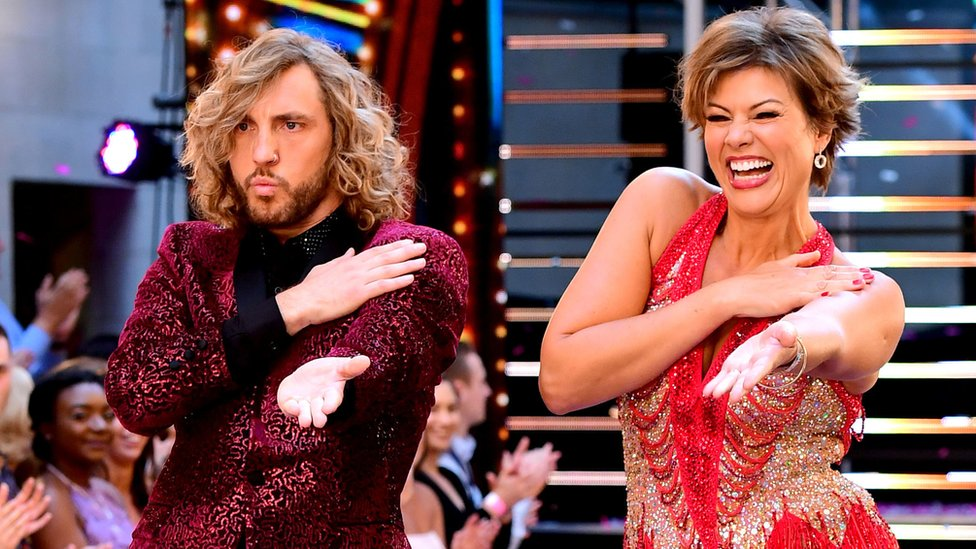 Seann Walsh and Kate Silverton
