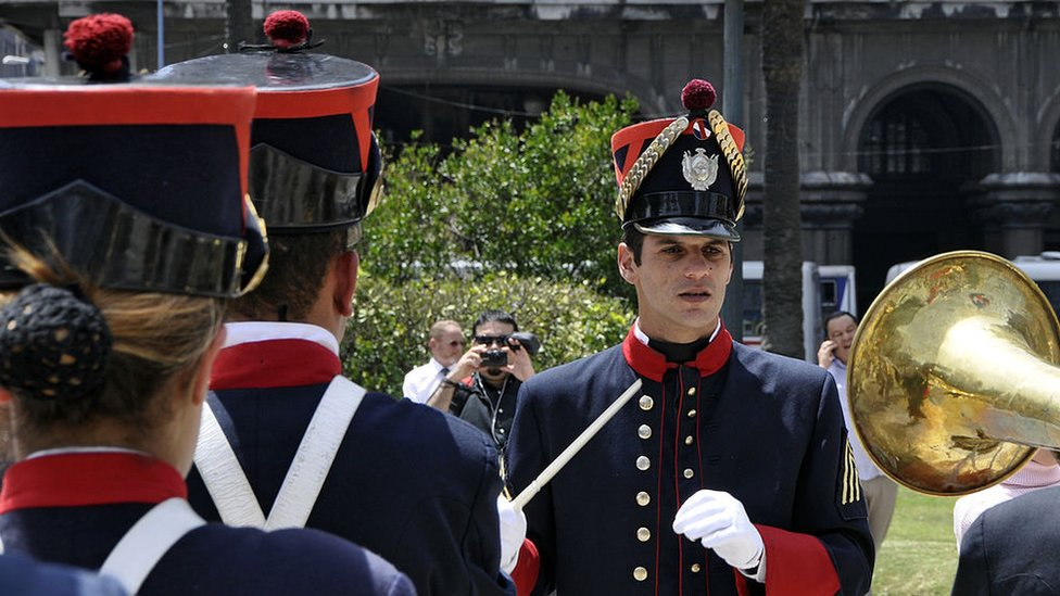 Soldados uruguayos