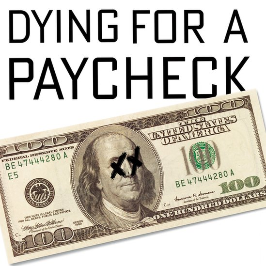 """Cover of """"Dying for a Paycheck"""""""