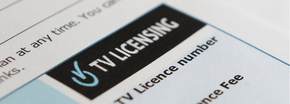 TV licence document