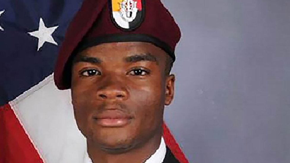 La David Johnson, one of the US soldiers killed in the attack