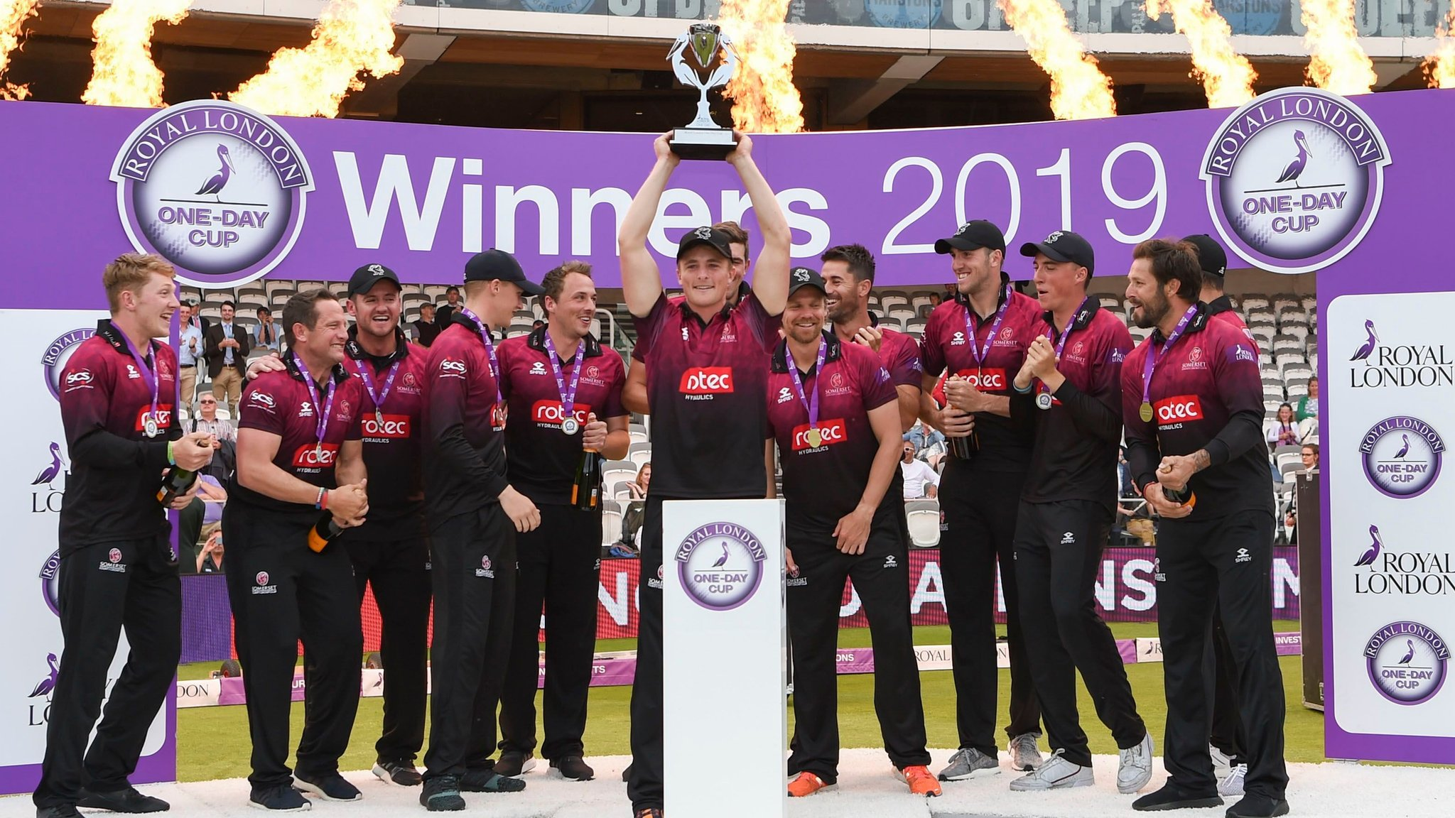 Somerset beat Hampshire to win last Lord's One-Day Cup final