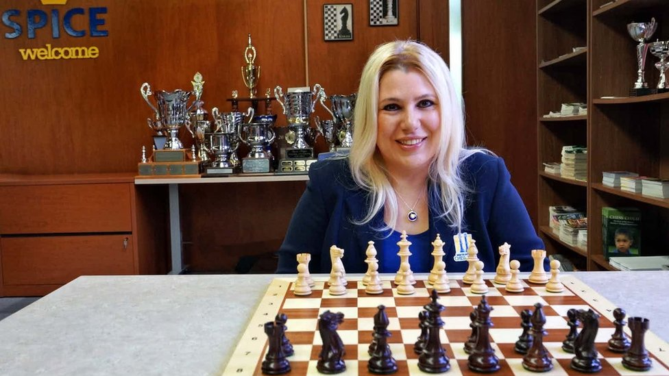 Former women's chess world champion Susan Polgar