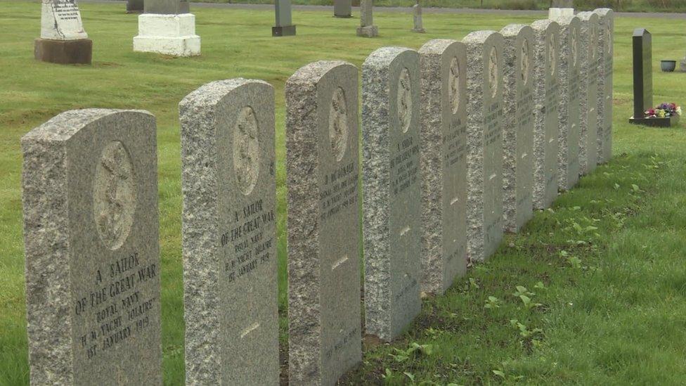 iolaire gravestones