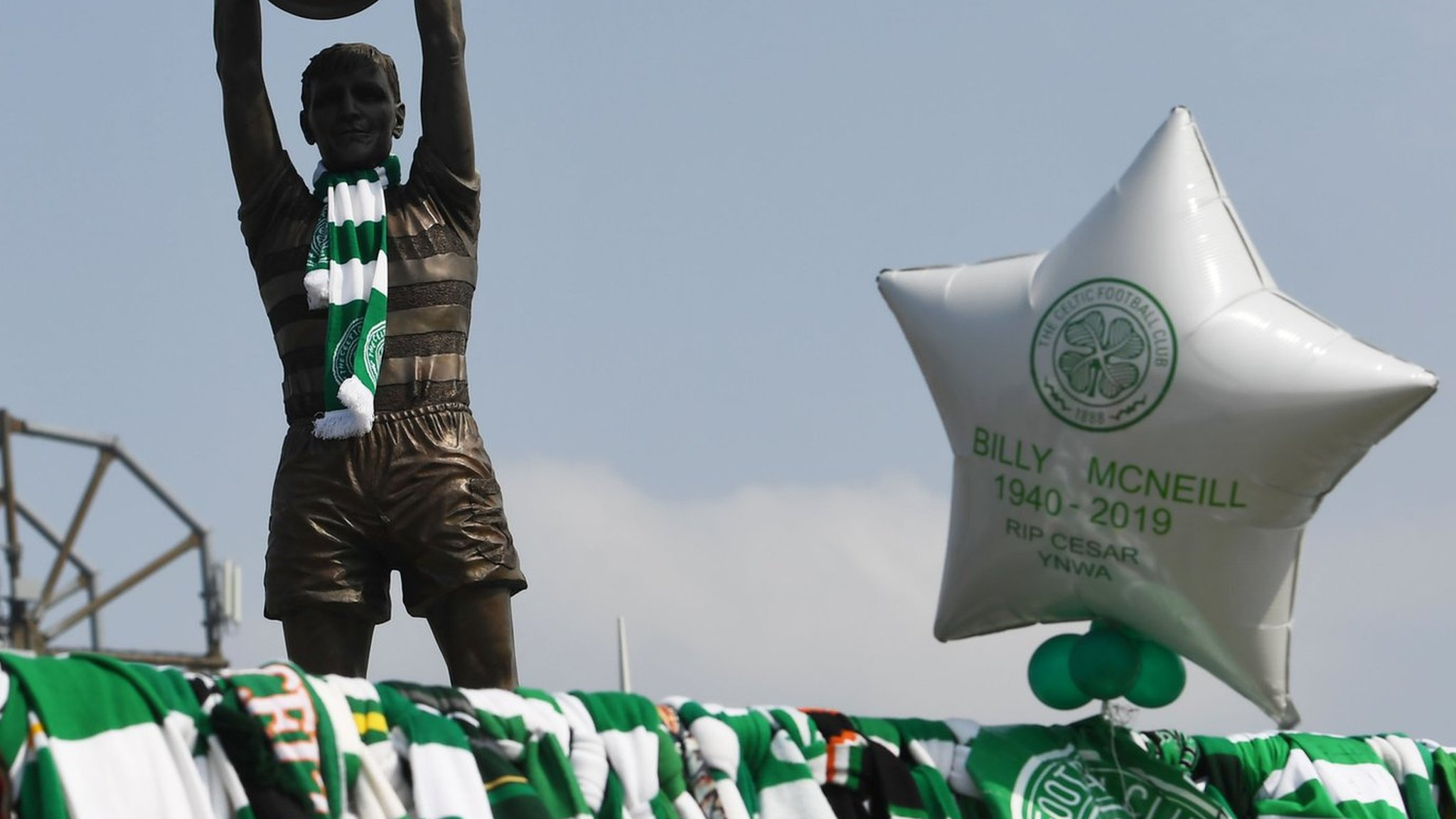 Billy McNeill: Celtic to 'celebrate' club legend's life against Kilmarnock