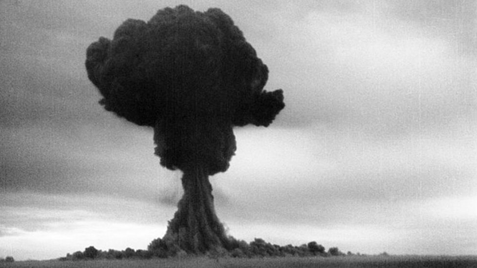 Image of the RDS-1 bomb explosion